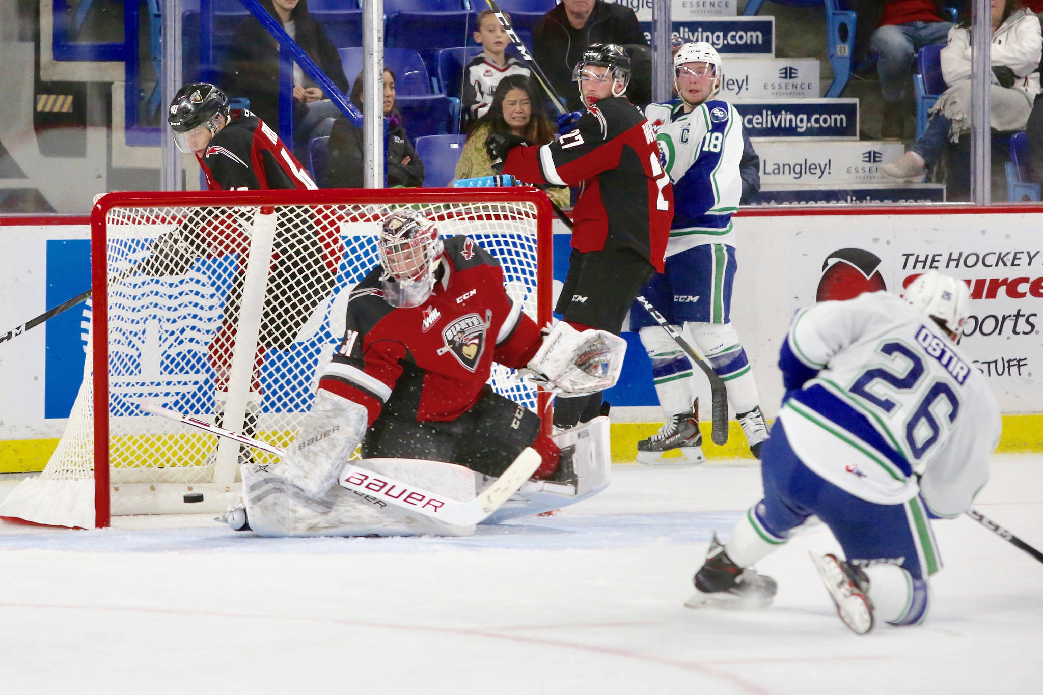 VIDEO: Vancouver Giants down Swift Current