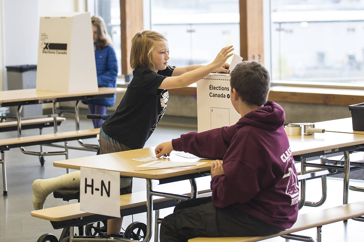 Student Votes elects Liberal minority