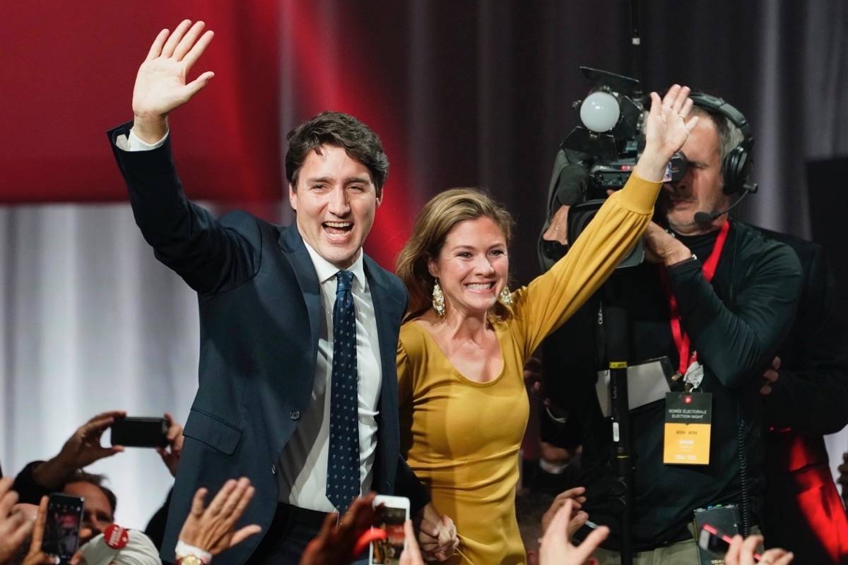 Liberals return with minority government in Election 2019