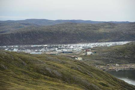 The community of Apex, Nvt., is seen from Iqaluit on Friday, Aug. 2, 2019. THE CANADIAN PRESS/Sean Kilpatrick