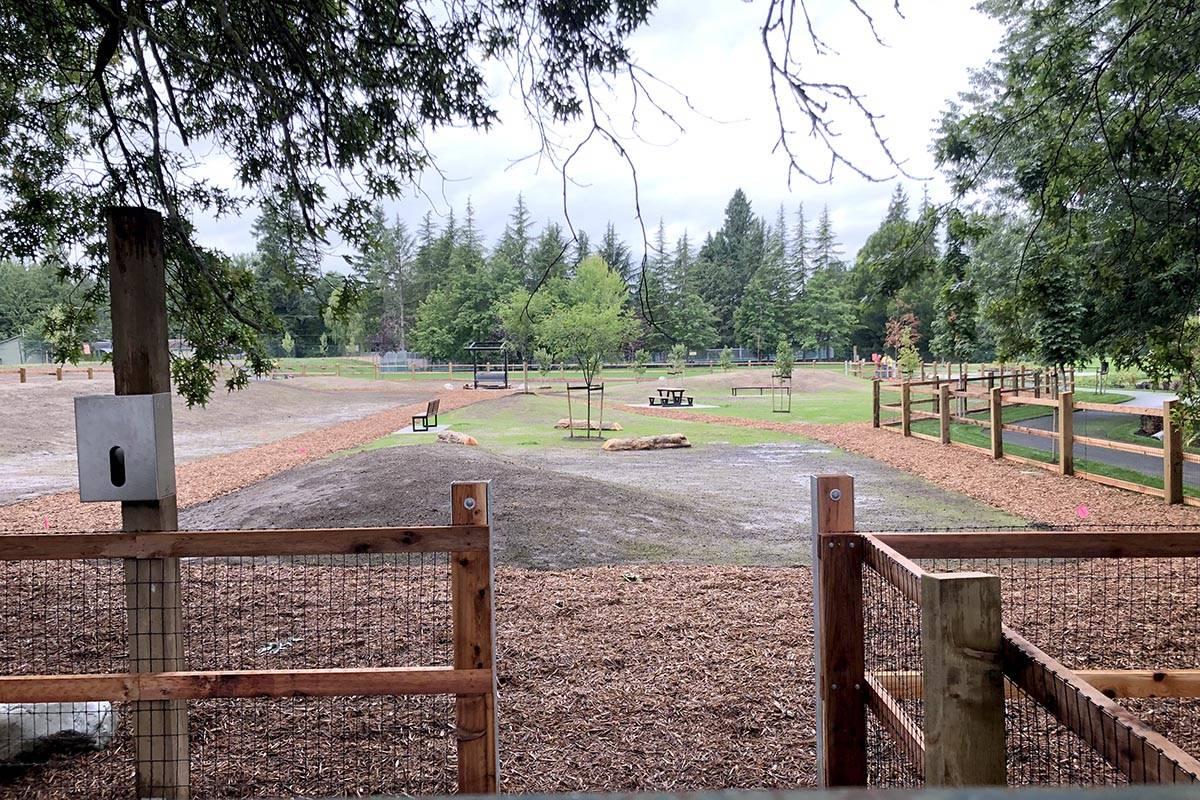 Langley's City Park gets a makeover