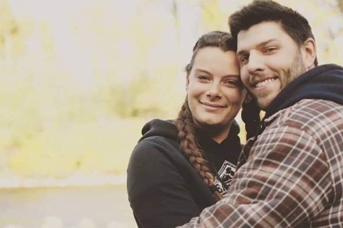 Keith Baldwin and his wife in this photo used on a GoFundMe page. Baldwin, 27, was shot and killed downtown Chilliwack in the early hours of Oct. 22, 2019. (GoFundMe)