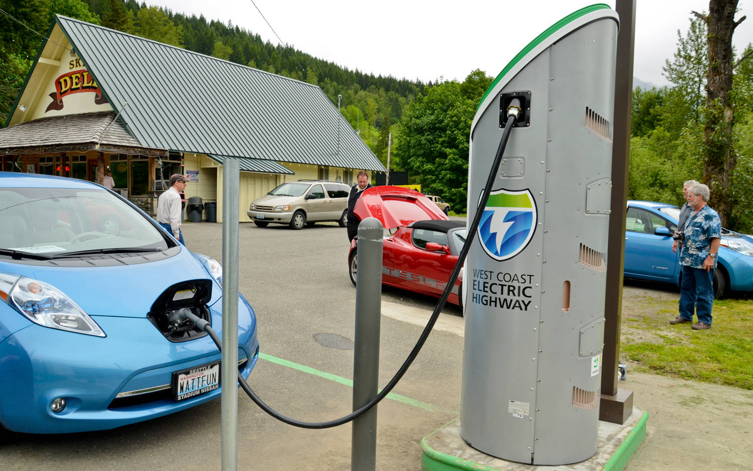 There is only one car charging station in the Cranbrook area (Black Press Media files)