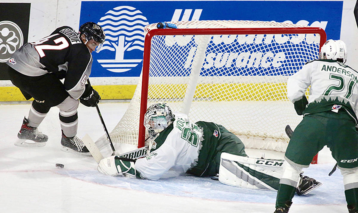 Vancouver Giants are defeated by Everett at Langley Events Centre Friday. (Rik Fedyck/Vancouver Giants)