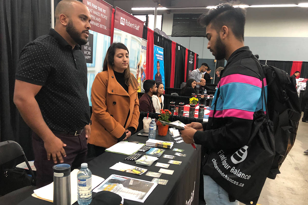 A past Black Press Extreme Education and Career Fair, held in Surrey in September. (Black Press file photo)