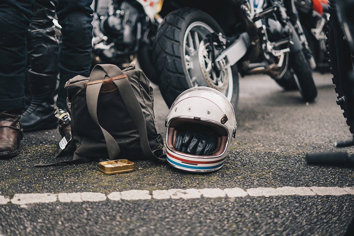When Terrance John Wojtkiw was pulled over on the Patricia Bay Highway he was wearing a motorcycle helmet while riding his Tag 500 scooter. (Rick Barrett/Unsplash)