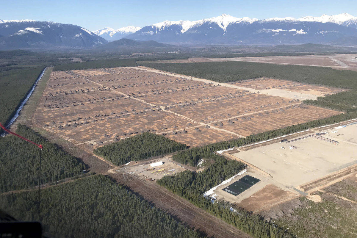 Containerized LNG could be the latest product to be manufactured at the Skeena Industrial Development Park in Terrace. (Taisheng International Investment Services photo)