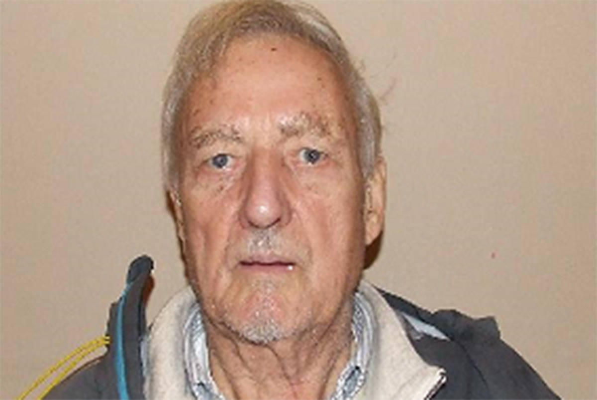 Langley RCMP is seeking the assistance of the public to locate 80-year-old Lorne Herron. (RCMP/Special to the Langley Advance Times)