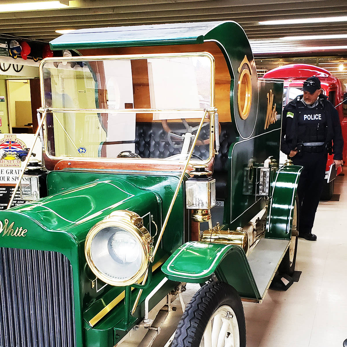 A vintage 1910 White truck will be a new addition to the Surrey Santa Parade of Lights this year (Photo: Paul Orazietti)