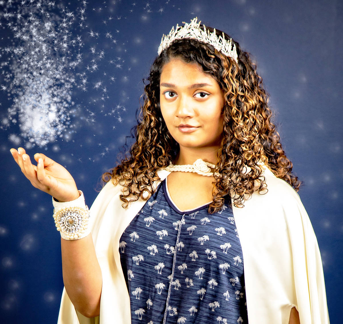 Alisha Pinto plays the titular role in Trinity Western University's production of the Snow Queen, which runs Nov. 19-30. (Photo: Jeff Gibbons)