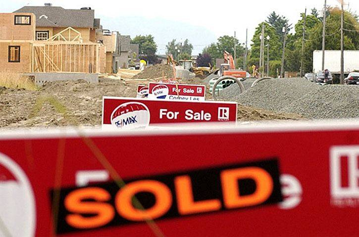 Housing sales are up in Langley this fall, according to statistics from the Fraser Valley Real Estate Board. (Langley Advance Times files)