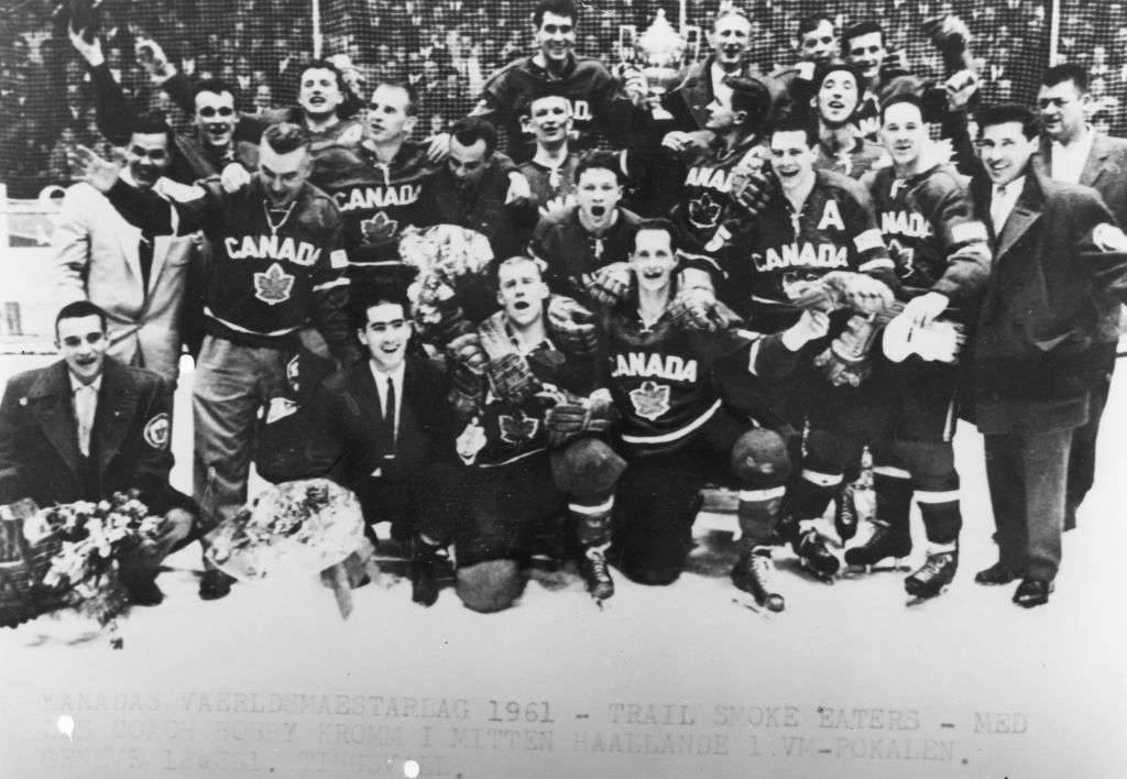 1961 Trail Smoke Eaters - World Hockey Champions