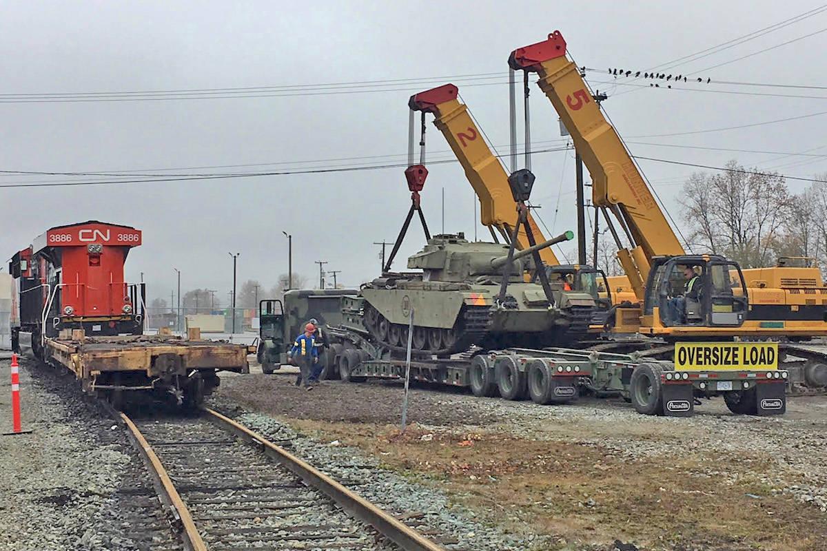 Last remaining Centurion tank from the Korean War arrives in B.C.