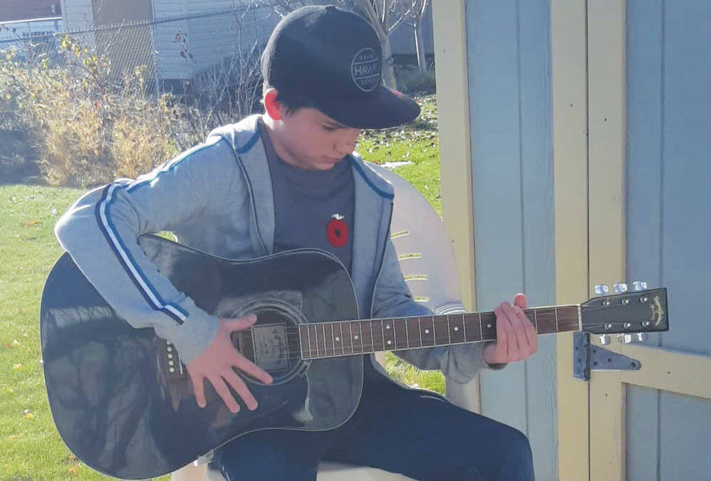 Ethan Kerfoot loves music, plays the saxophone and is learning guitar and drums. He is also bullied at school everyday.