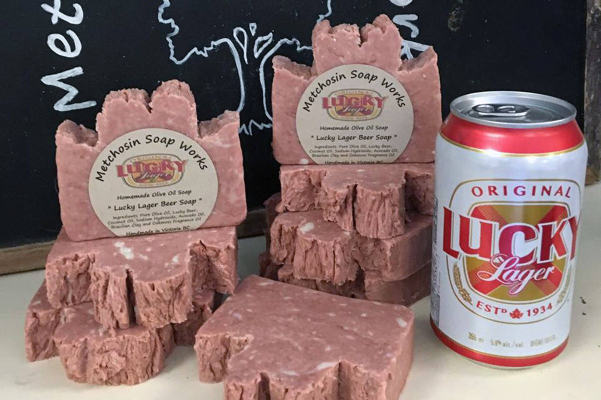 Metchosin Soap Works releases a new lager-infused soap in time for the holidays. (Facebook/Metchosin Soap Works)