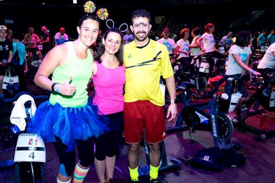 Gym enthusiasts invited to get in gear for kids