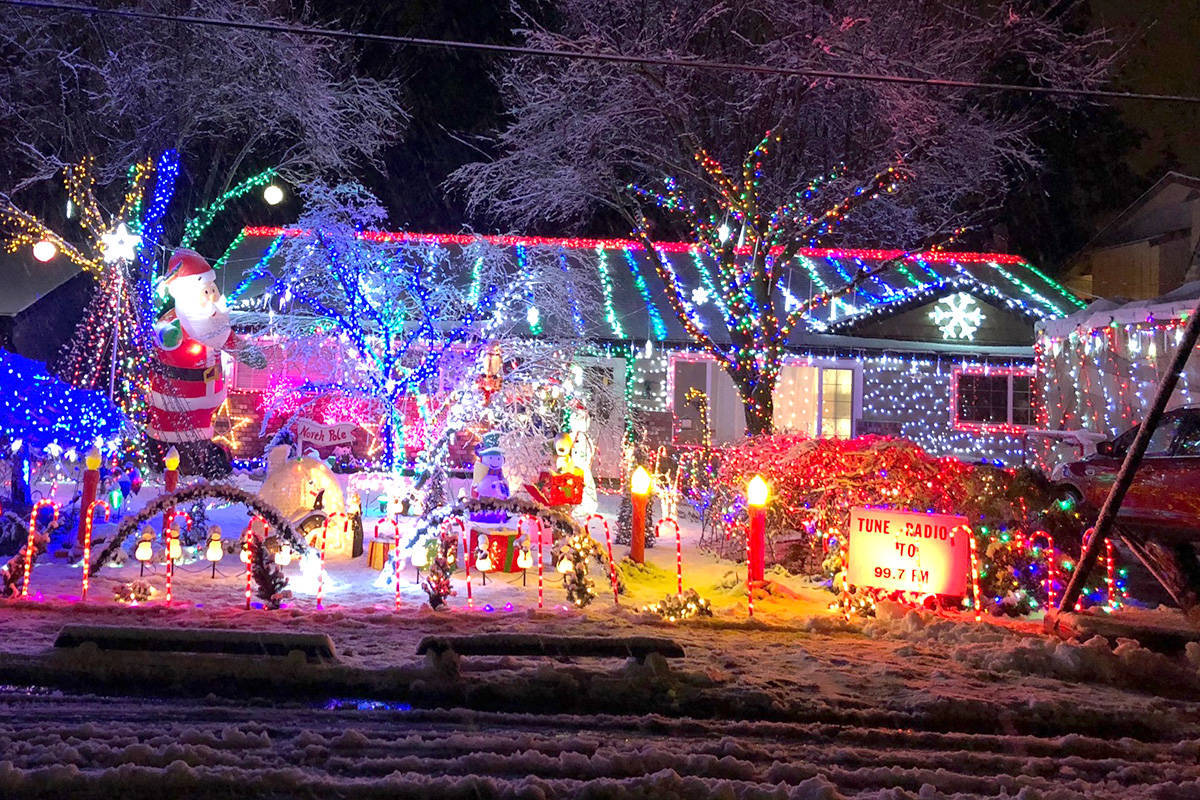 Notify the Langley Advance Times on any Christmas light displays so they can be shared with the public. (Langley Advance Times files)