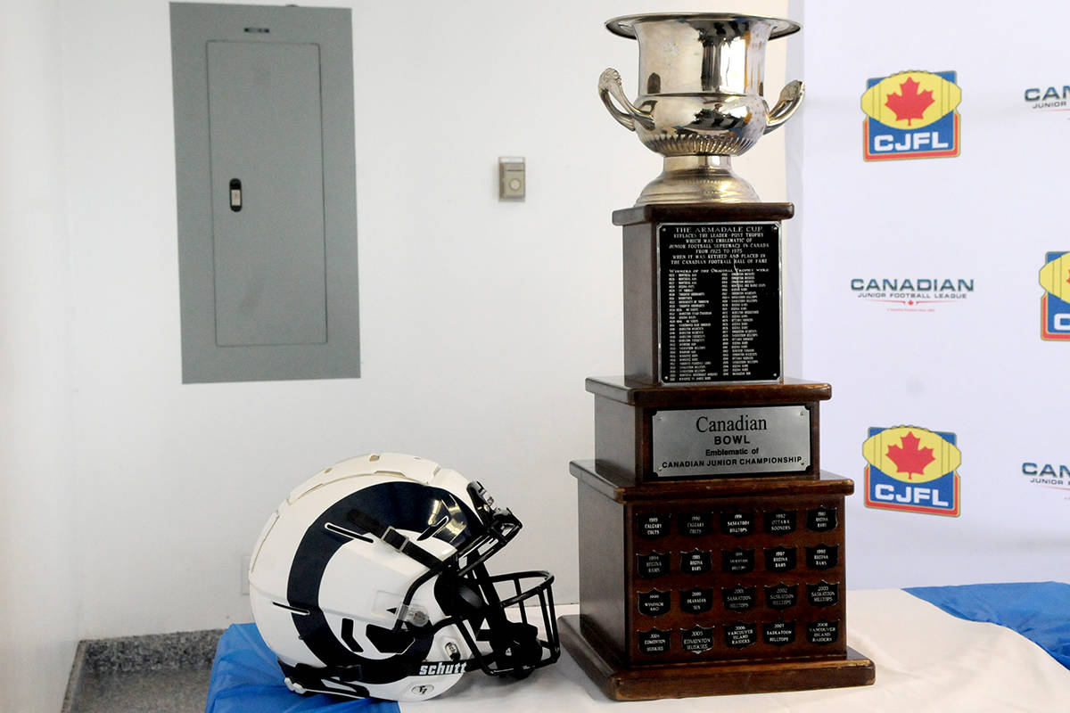 VIDEO: Canadian Junior Football national championships come to Langley