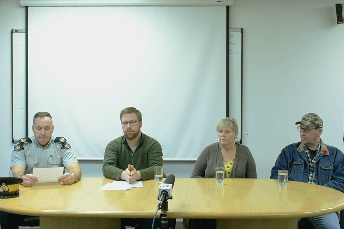 Cameron Kerr's family made their third appeal asking for more information about the fatal hit and run that took his life on Nov. 18, 2018. (Natalia Balcerzak/Terrace Standard)