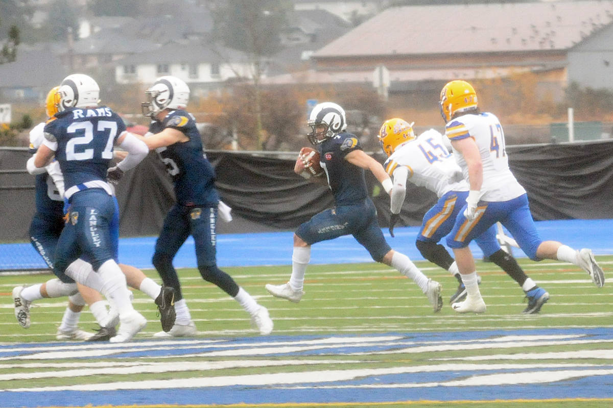 VIDEO: A narrow defeat for Langley Rams at Canadian Bowl