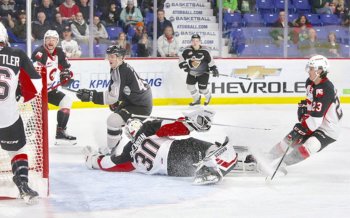 VIDEO: Vancouver Giants blank Cougars 4-0
