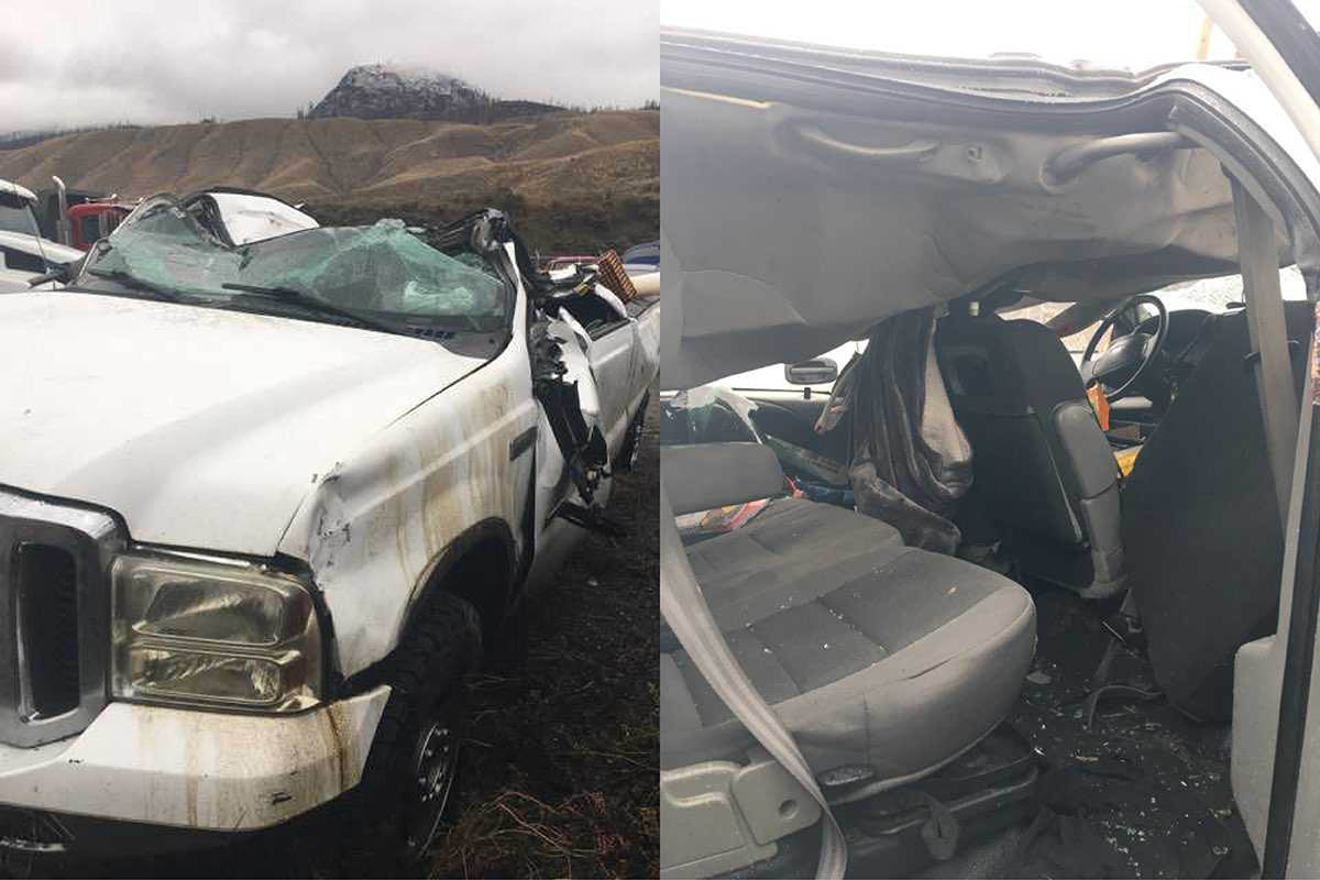 Pictures of Olivia Fletcher's truck. Submitted images.
