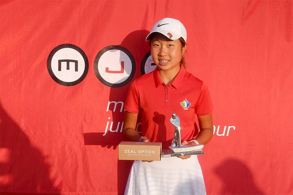 Langley golfer Erin Lee. (File)