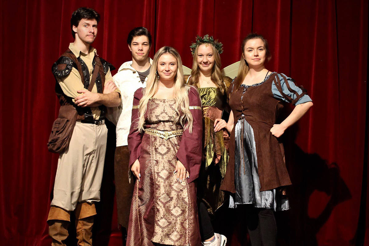 Langley playwright debuts fantastical production she developed in high school