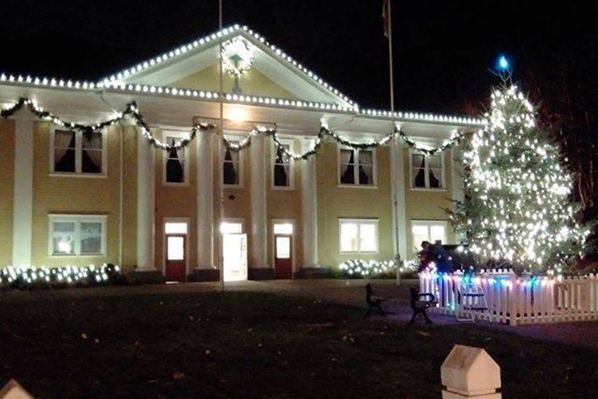 Fort Langley Community Hall is the site for the Dream Christmas Market, Dec. 7, 1:30 to 6 p.m. (Langley Advance Times files)