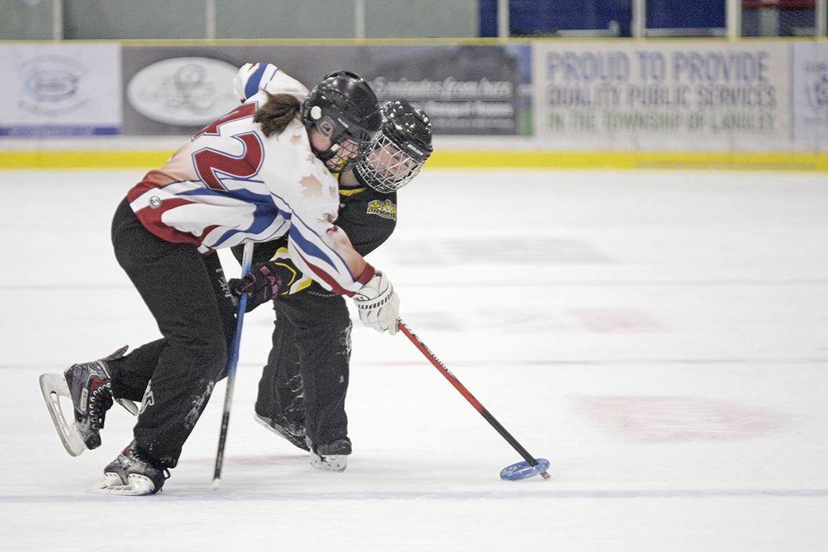 Organizers expect 90 teams to compete in this year's edition of the Michelle Vandale Memorial Spirit of Winter Ringette Tournament in Langley. (file photo)