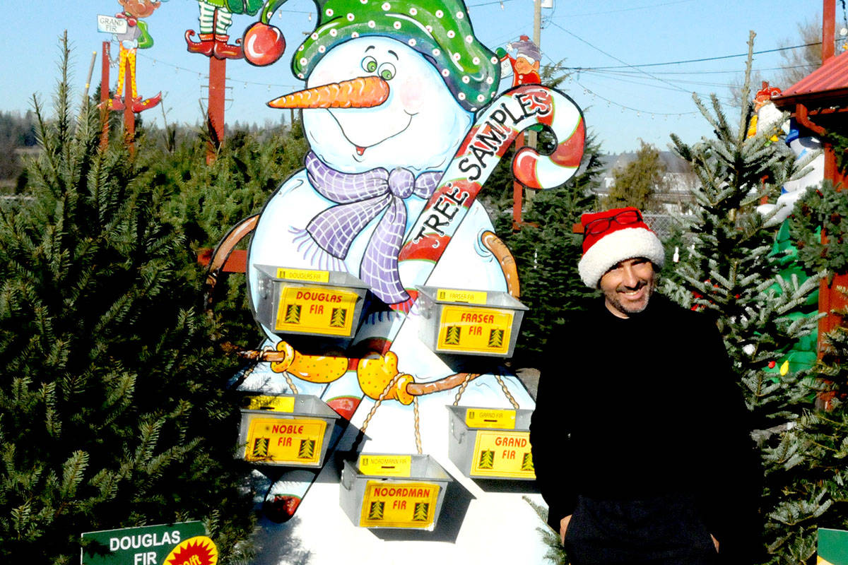 VIDEO: Langley's Oh Christmas Tree Farm offers tips and tricks for finding that perfect Tannenbaum