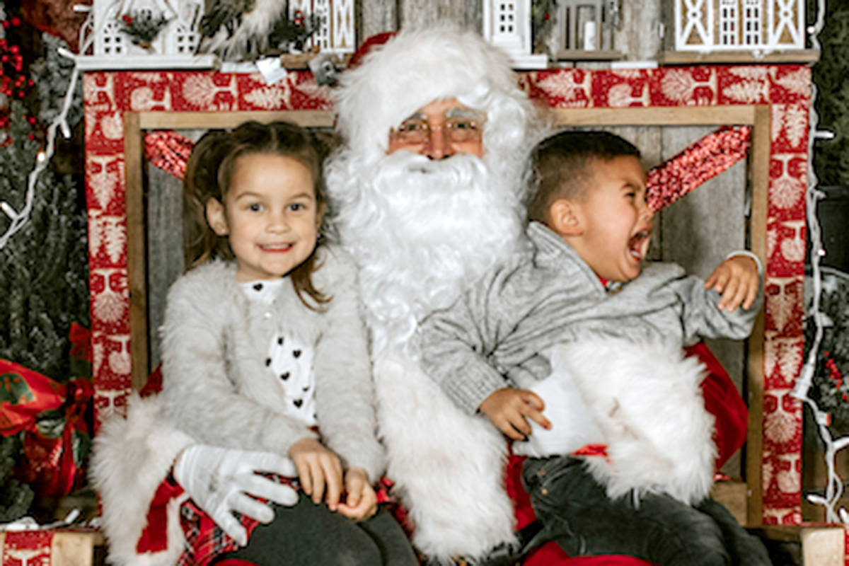 Be good for goodness sake and post those Langley Santa photos