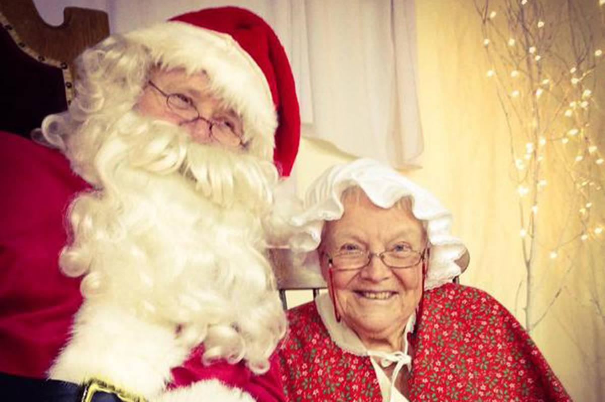 Santa and Mrs. Claus will be present around the clock for photo ops and whispers of so-desired Christmas gifts. (Aldergrove Star files)