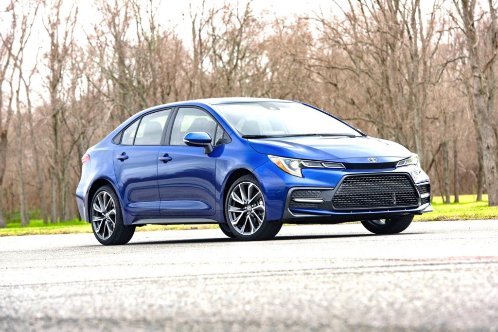 The SE is the image car for the Corolla brand, with its extra trim and 18-inch alloy wheels. It also gets the more powerful four-cylinder engine. Photo: Toyota