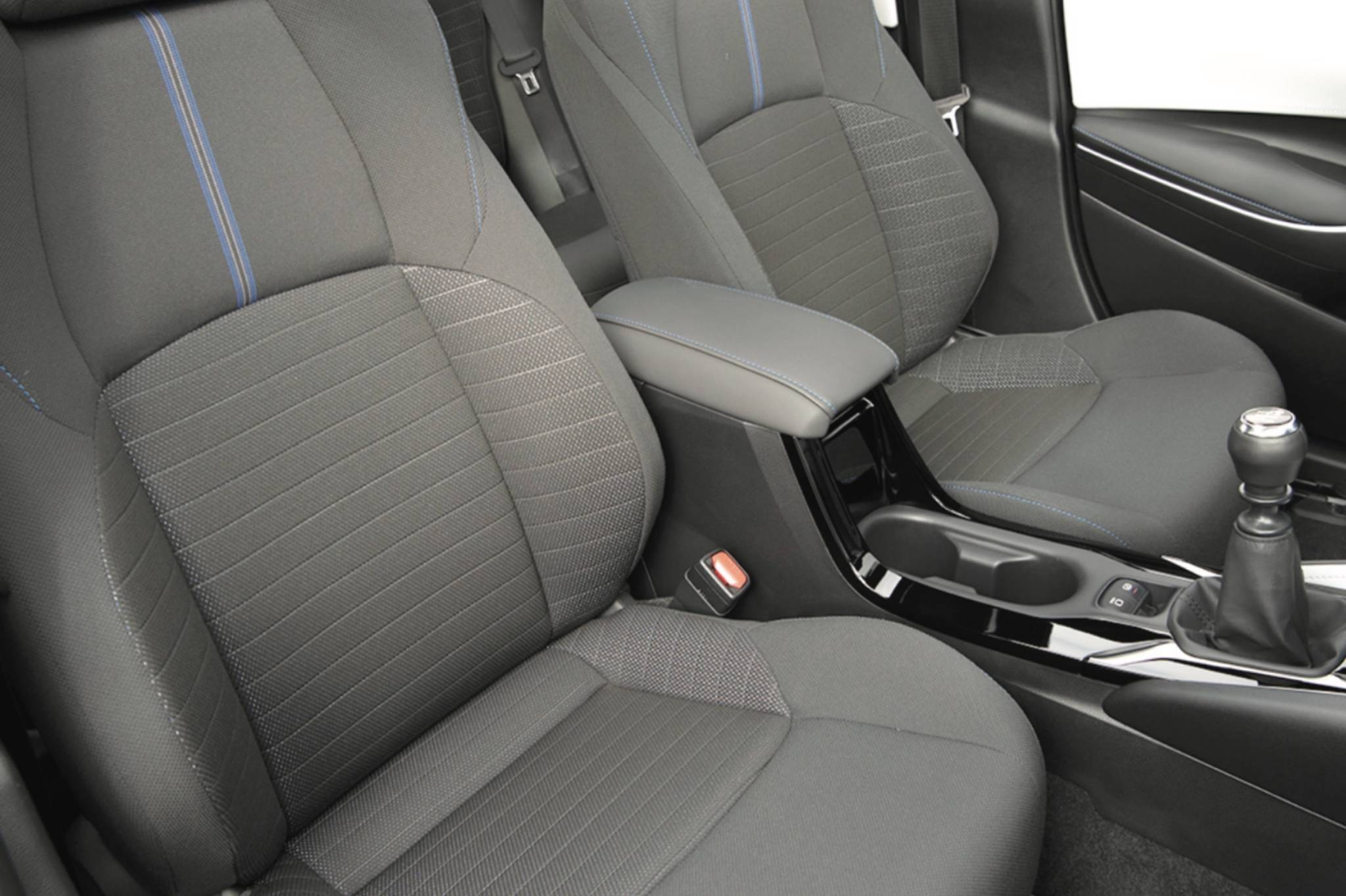 The SE can be ordered with a manual transmission and is the sporty member of the family with more supportive seats. Photo: Toyota