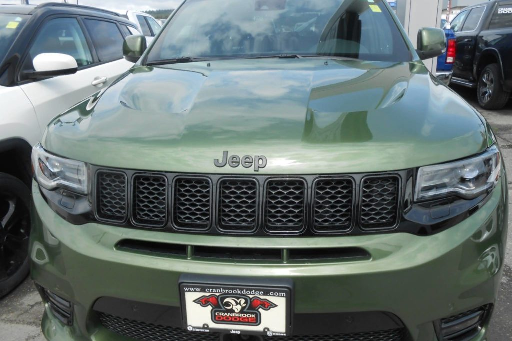 Raw power of the Jeep SRT 8. 0-60 in 4.4 seconds