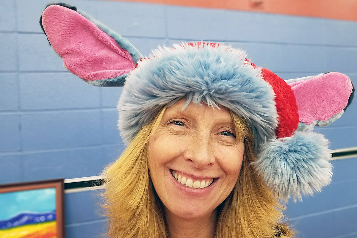 Shannon Twiss, one of the organizers of a weekend craft fair at Peterson Road Elementary School, said it raised more than $6,000 for the family of Jesse Brown, a student at the school who was injured in a hit-and-run while walking home from class. (Dan Ferguson/Langley Advance Times)
