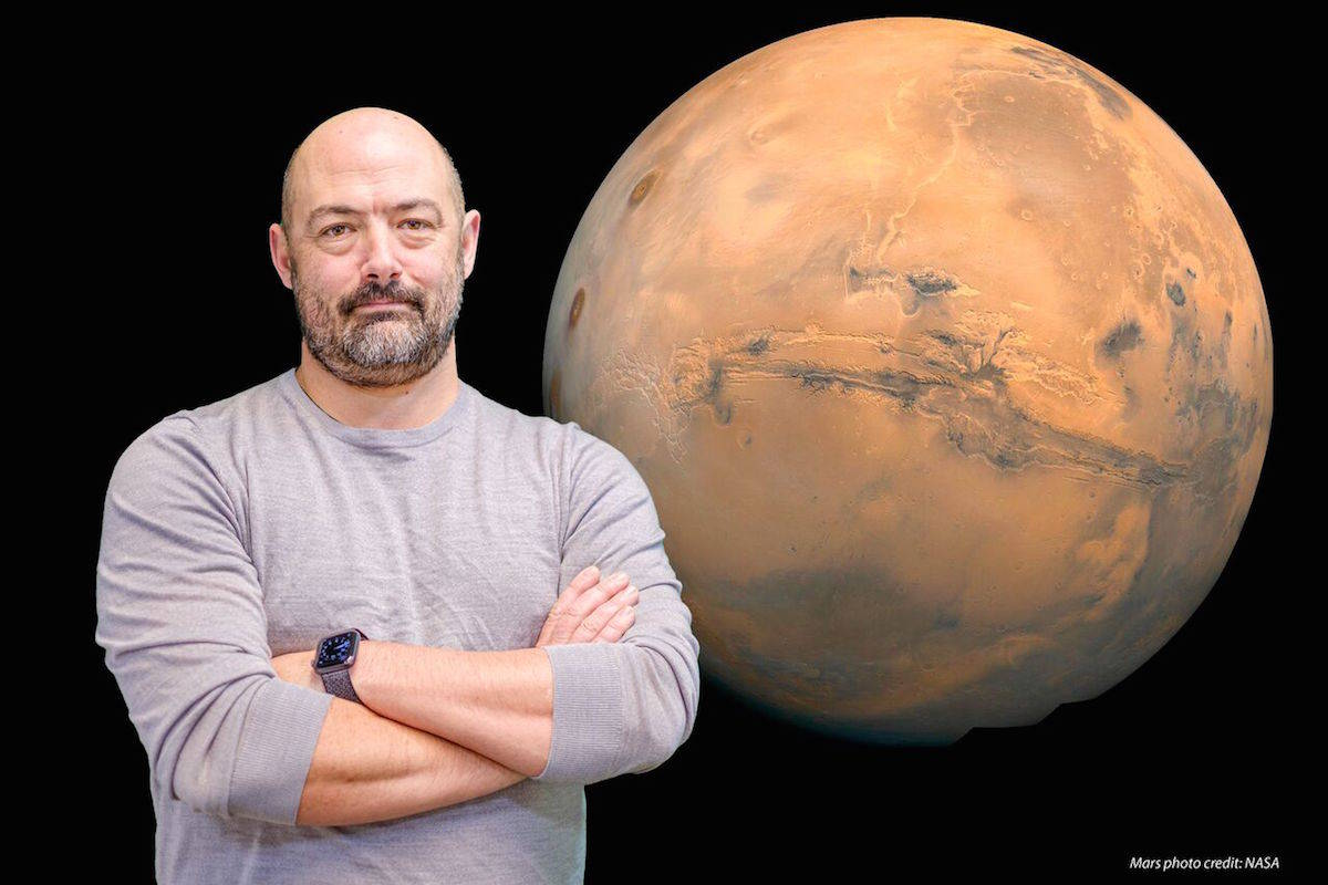 Gord Binsted is Dean of the Faculty of Health and Social Development and one of the lead researchers on a Canadian mission to the HI-SEAS Mars simulation habitat. (Contributed)