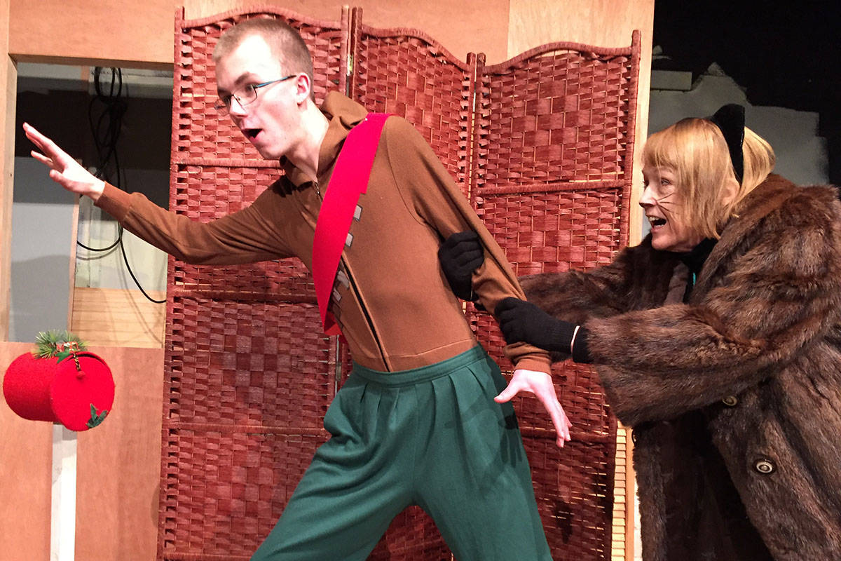 Surrey Little Theatre explores what might happen if an alien visited the North Pole