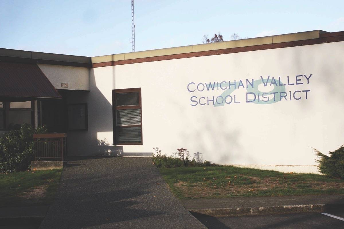 Teacher has teaching licence suspended for one week after incidents in schools in the Cowichan Valley and in Nanaimo-Ladysmith (File photo)