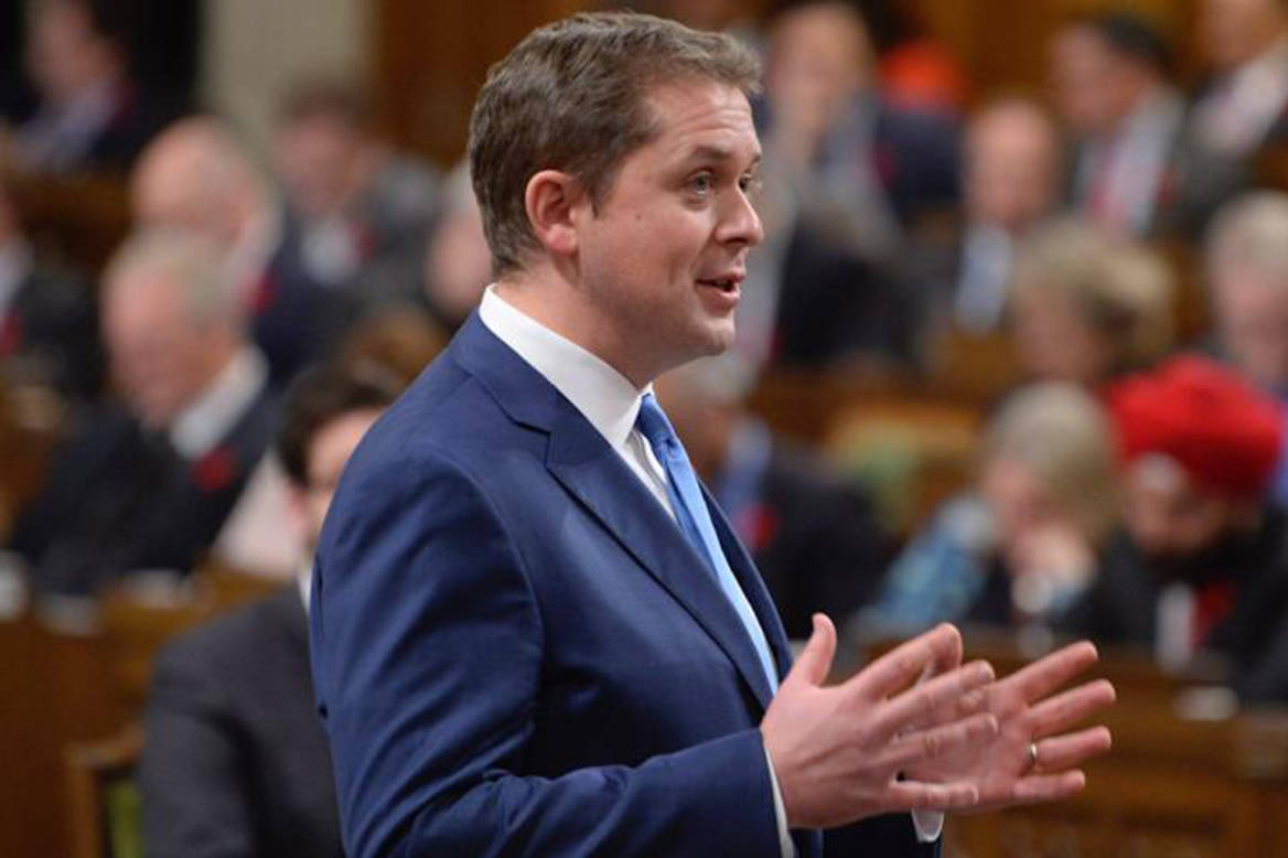 Conservative Party Leader Andrew Scheer. (The Canadian Press)