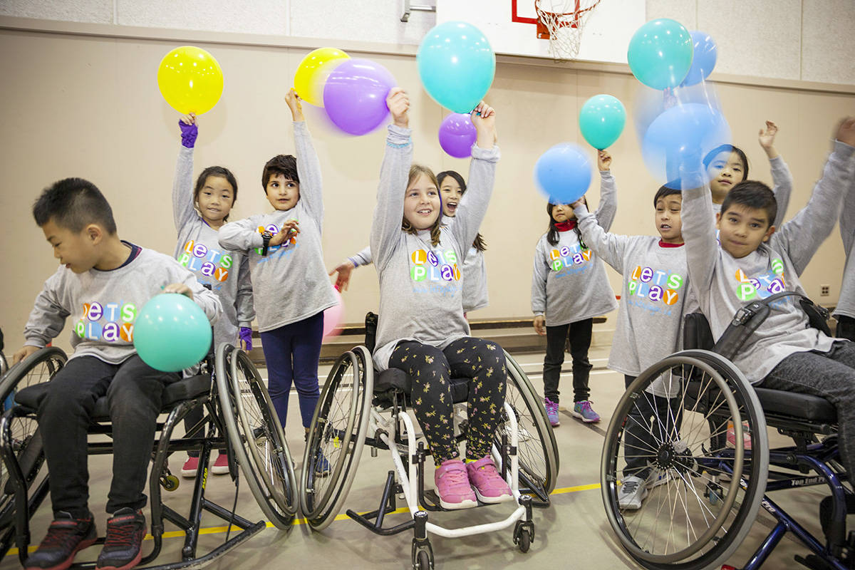 Let's Play BC holds events in various communities and is coming to Langley for a session on Thursday, Dec. 5 at the Timms Community Centre in partnership with the Fraser Valley Wheelchair Sports Club. (Let's Play BC photo)