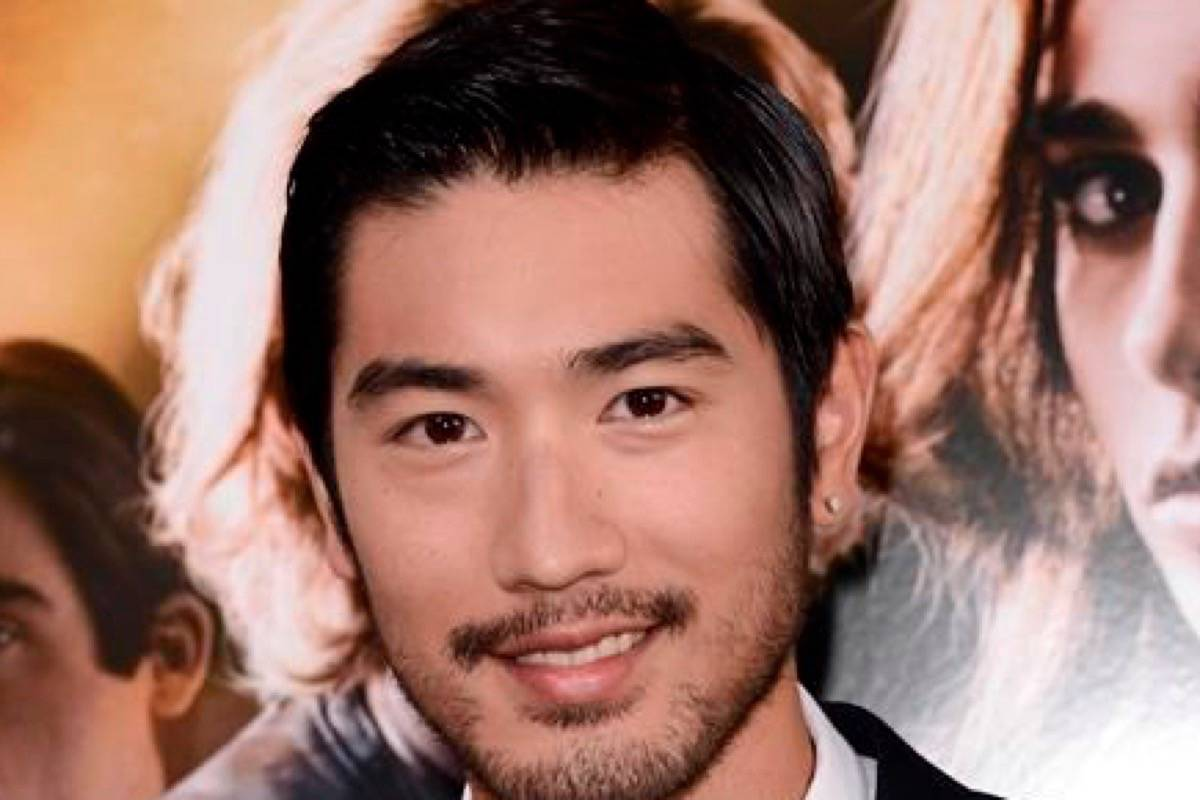 Taiwanese-Canadian model-actor Godfrey Gao died in China on Nov. 27, 2019. (Photo by THE ASSOCIATED PRESS)