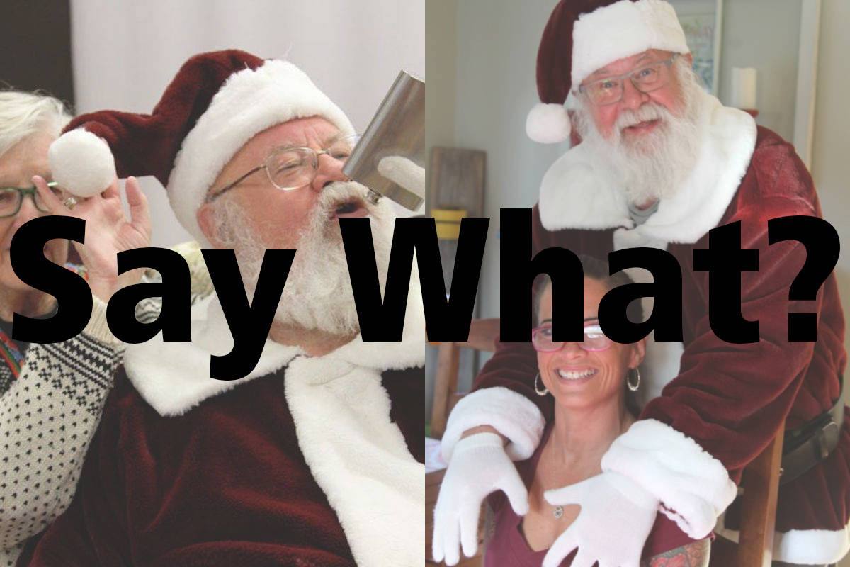 SAY WHAT? Readers divided on Penticton's Santa being fired for personal pics