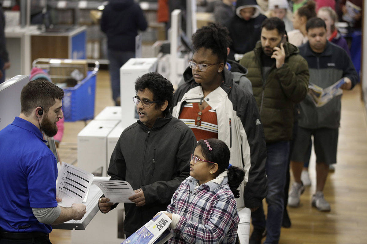 PHOTOS: Black Friday frenzy goes global - and not everyone's happy