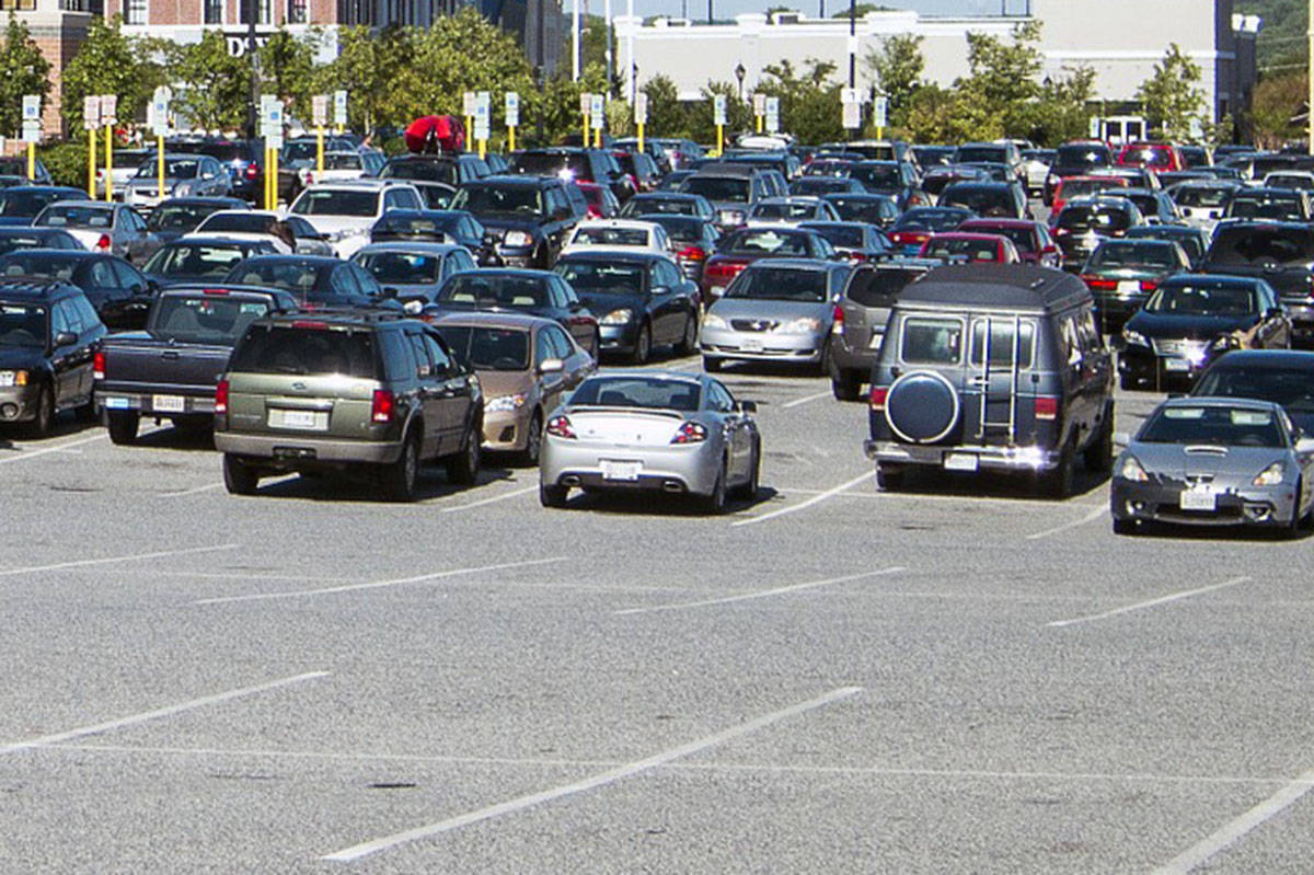 In 2018, there were roughly 96,000 crashes in B.C. parking lots that ended in a claim being filed, according to ICBC. (Pixabay photo)