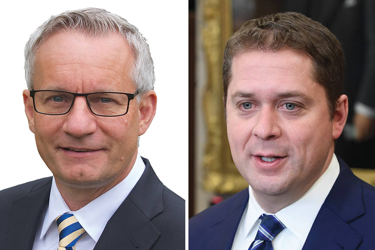 Abbotsford MP Ed Fast declined a role in the Conservative shadow cabinet, saying Andrew Scheer deserves a team that 'fully supports his leadership.'                                File photo/CP
