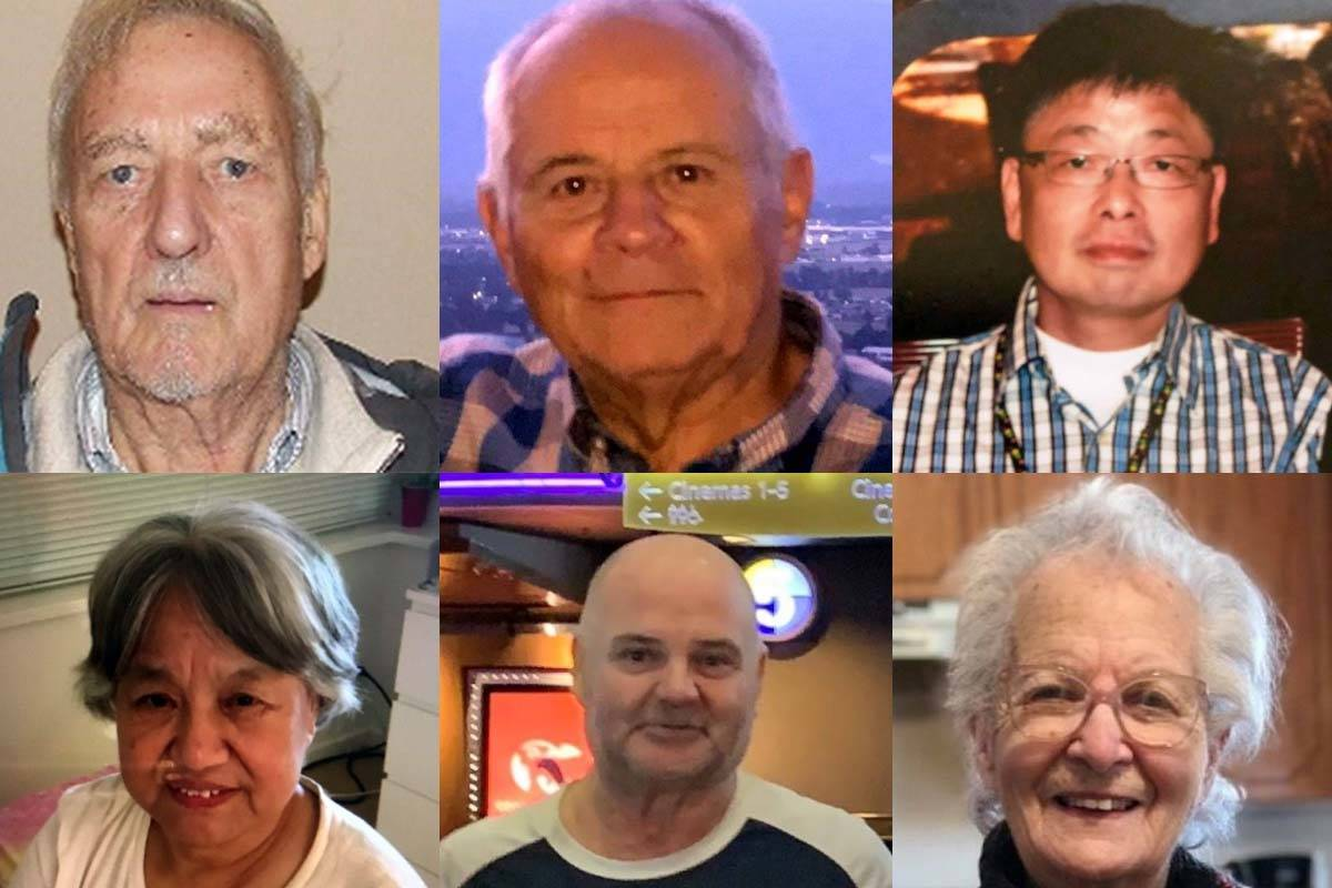 Six seniors with dementia are still missing or have been found dead so far in 2019, the worst year since BC Silver Alert was founded in 2014. (BC Silver Alert)