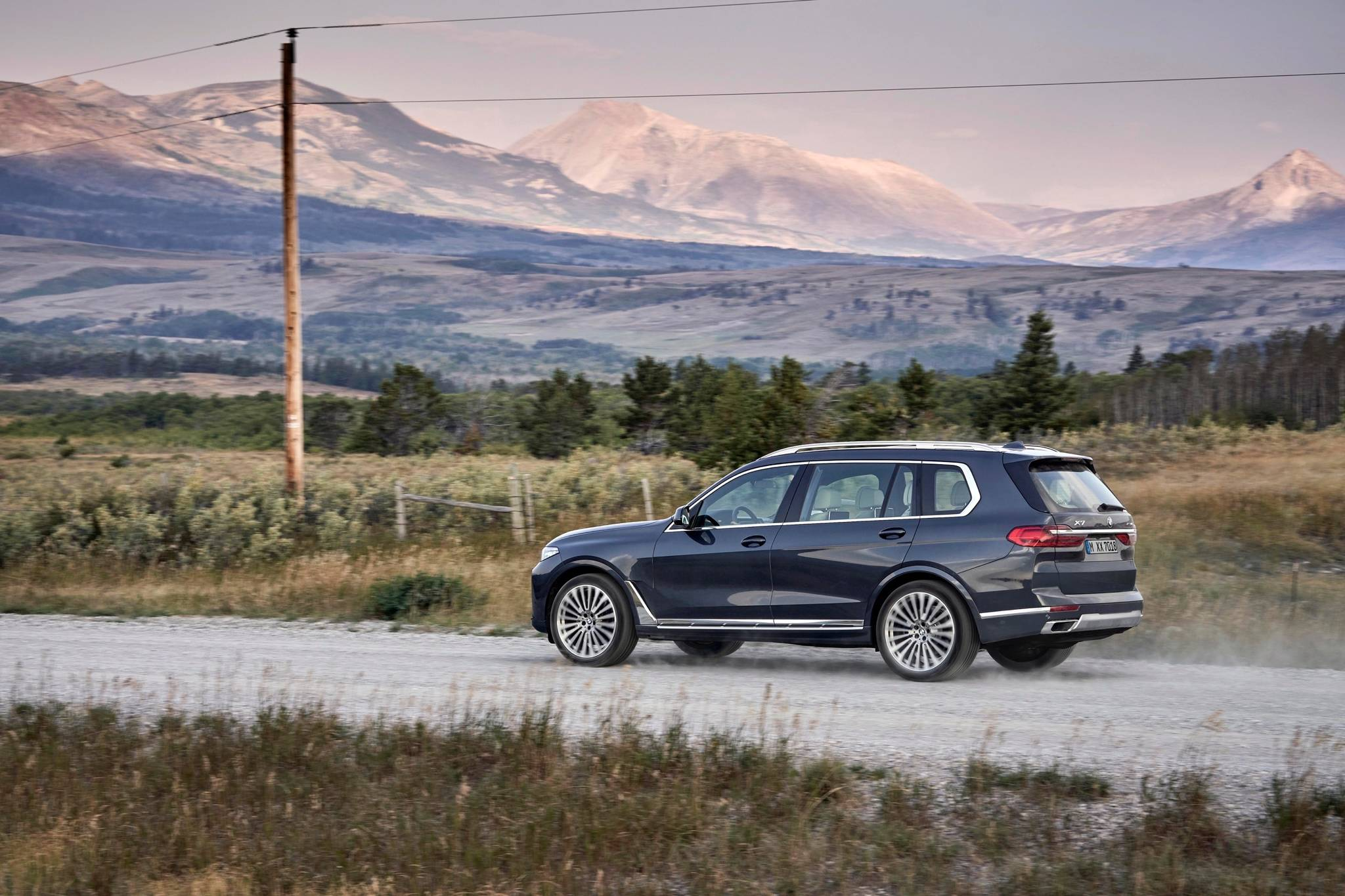 The advantage the X7 has over the X5 is size —specifically length — plain and simple. Otherwise, the engine and transmission choices are the same. Photo: BMW