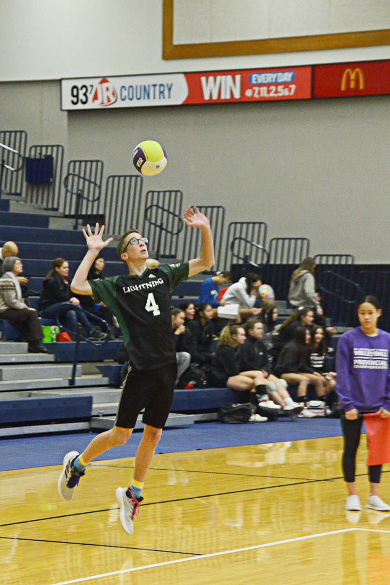 Langley Christian headed for semi-finals in high school volleyball championships